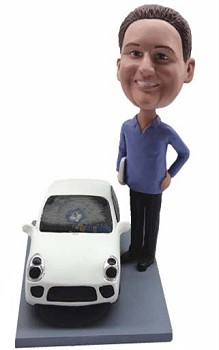 Man with Car custom bobblehead2