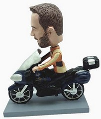 Motorcycle Man custom bobble head doll 4