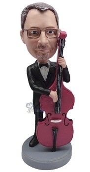 Bass custom bobble head doll