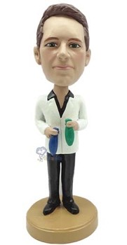 Man with Chemistry custom bobblehead