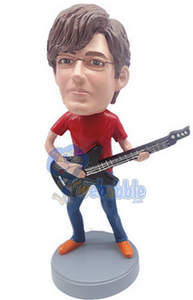Guitar custom bobble head doll 5