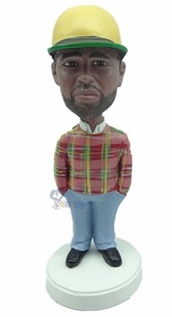 Hands in Pocket custom bobble head doll 6