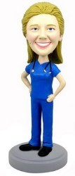 The Nurse custom bobble head doll