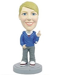 Casual Women custom bobble head doll  7