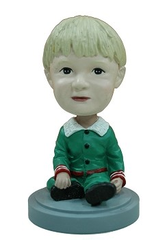 Child Elf Outfit custom bobble head doll