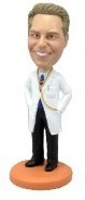 Doctor custom bobble head doll