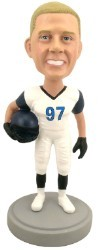 Football Player custom bobble head doll