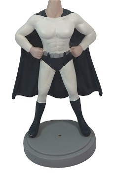 Muscle super hero custom bobble head doll