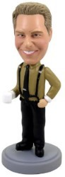 Business Man custom bobble head doll