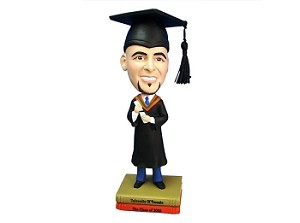 Graduation custom bobble head doll 2