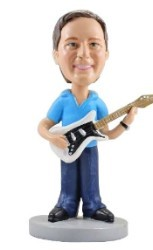 Guitar custom bobble head doll 2