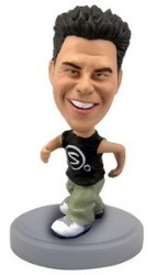 Runner personalized bobble head doll (Male)