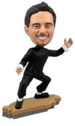 Bruce Lee custom bobble head doll